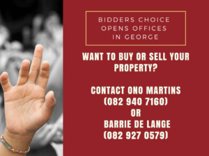 Bidders Choice expands business into the magnificent Garden Route