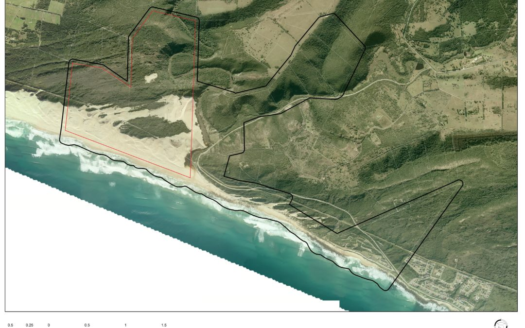 Beach fronting 235 Ha development land on Blue Horizon Bay (Maitlands, PE)